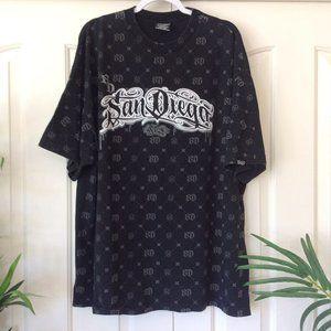 RARE JNCO San Diego Graffitti XXXL T Shirt